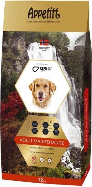 Appetitt Maintenance hundefôr (12 kg)