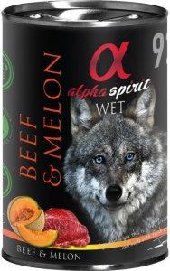 Alpha Spirit Beef & Melon (12 x 400g)