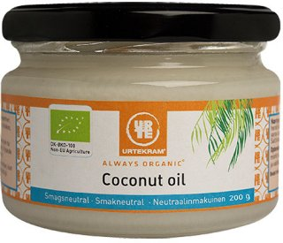 Urtekram Coconut Oil smaksnøytral 217 ml