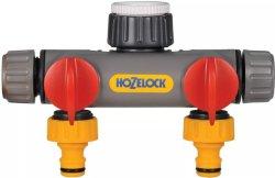Hozelock 2-veis Krankobling (2252)