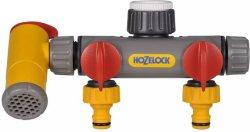 Hozelock 3-veis Krankobling (2250)