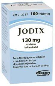 Jodix tabletter 130 mg 100 stk