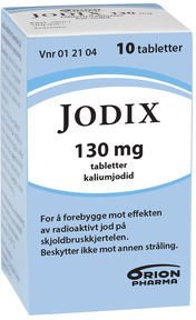Orion Pharma Jodix tabletter 130 mg 10 stk