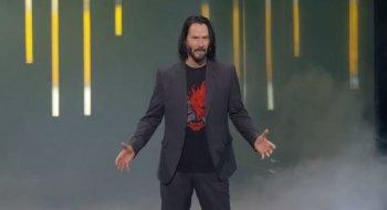 Ropte «You're breathtaking» til Keanu Reeves under Cyberpunk 2077-presentasjonen – nå får han spillet gratis