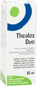 Thealoz Duo Øyedråper