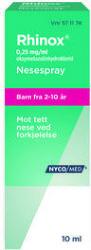 Nycomed Rhinox Nesespray 0,25 mg/ml