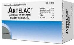 Bausch & Lomb Artelac 60 x 0,5 ml