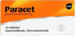 Weifa Paracet 500 mg tabletter 20 stk