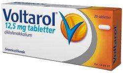 Voltarol 12,5 mg tabletter 20 stk