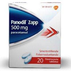 GSK Panodil Zapp 500 mg 20 stk