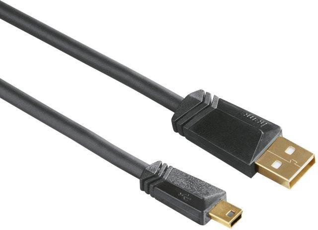 Hama USB A-mini B 5pin M/M 1.8m