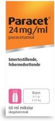 Weifa Paracet 24 mg/ml mikstur 60 ml