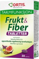 Ortis Frukt & Fiber Tabletter
