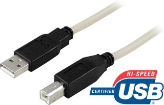 Cable A-B USB 2.0 3m