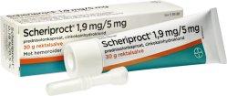 Bayer AB Scheriproct Rektalsalve