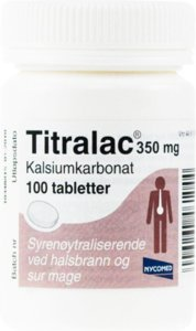 Titralac 350 mg 100 tabletter