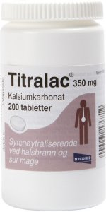Titralac 350 mg 200 tabletter