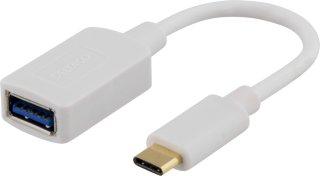 USB A (hunn) til USB C (hann) - USB 3.1 - 15cm