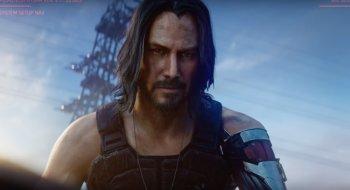 Keanu Reeves har den nest største rollen i Cyberpunk 2077