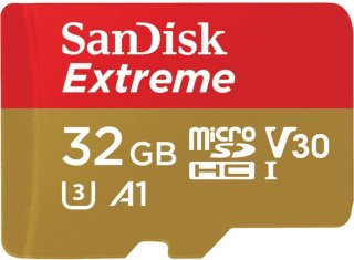 SanDisk Extreme MicroSDHC 32GB A1 UHS-I