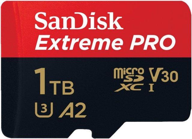 SanDisk Extreme Pro MicroSDXC 1TB