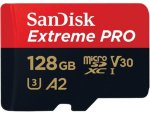 SanDisk Extreme Pro microSDXC 128GB A2