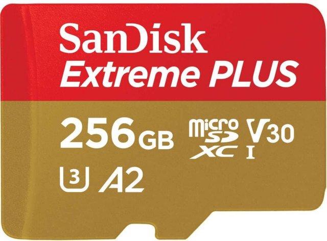 SanDisk Extreme microSDXC 256GB