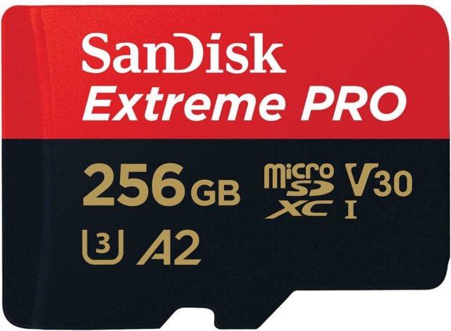 SanDisk Extreme Pro microSDXC 256GB