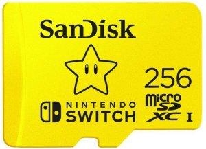 SanDisk Micro SD-kort for Nintendo Switch 256 GB