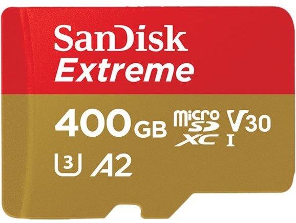 SanDisk Extreme microSDXC 400GB