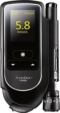 Roche Accu-Chek Mobile blodsukkerapparat