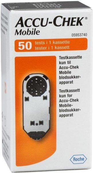 Roche Accu-Chek Mobile teststrimler