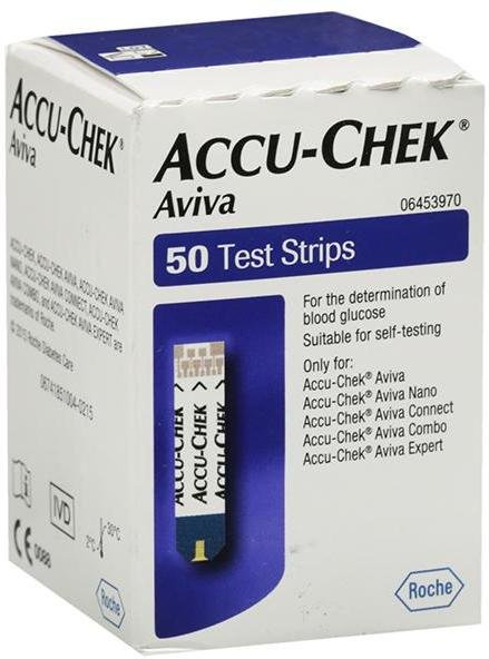 Roche Accu-Chek Aviva teststrimler  50 stk