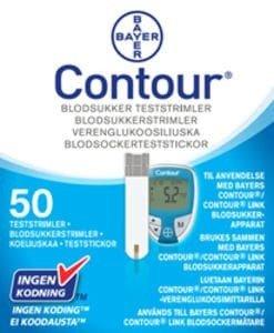Bayer AB Contour blodsukkerstrimler 50 stk