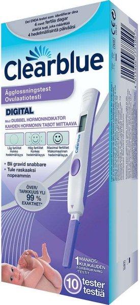 Clearblue Advanced Digital Eggløsningstest 10 stk