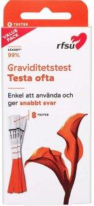 Graviditetstest Test Ofte