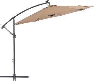 VidaXL Hengeparasoll med LED-lys og stålstang 300cm