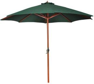 VidaXL Parasoll med trestang 300cm