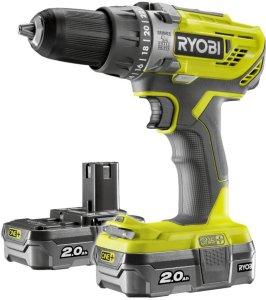 Ryobi One+ R18PD3-220S (2x2,0Ah)