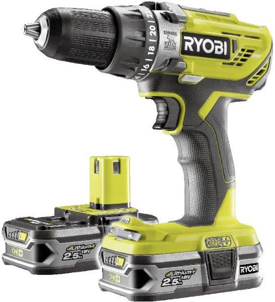 Ryobi One+ R18PD3-225S (2x2,5Ah)