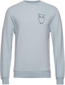 Best pris på Knowledge Cotton Apparel Owl Chest Logo T shirt