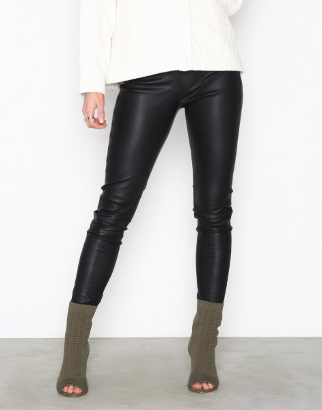 Selected Femme Sylvia Leather Legging