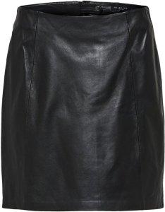 Selected Femme Bimi Leather Skirt