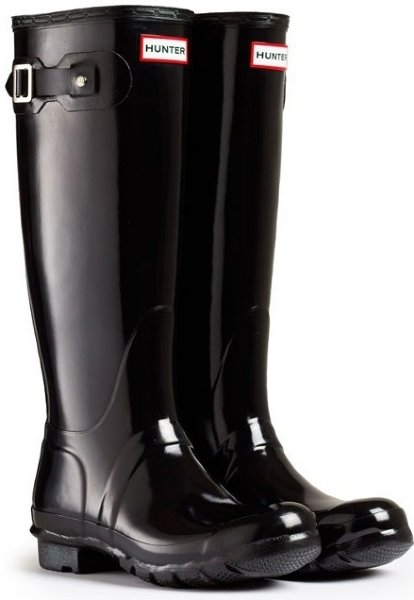 Hunter Original Tall Gloss (Dame)