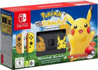 Switch Pokémon: Let's Go, Pikachu!