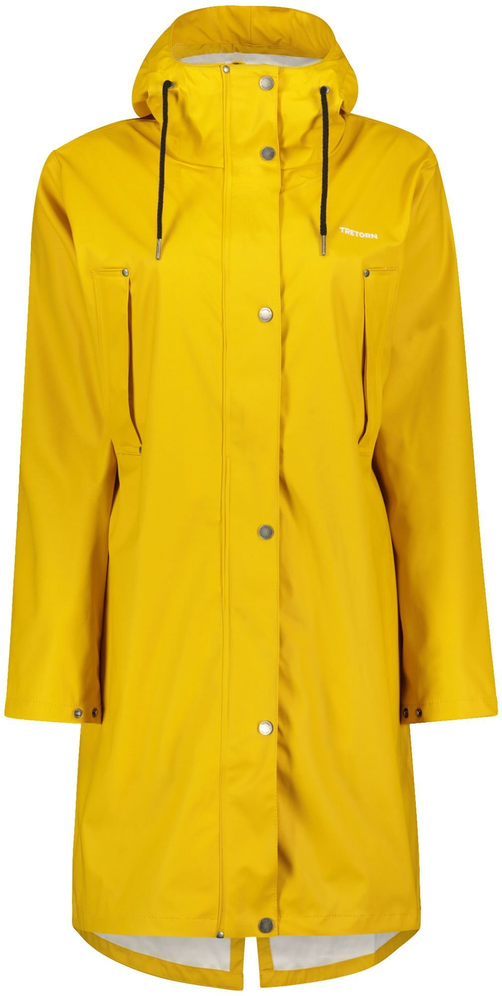 Tretorn Moisty Rainjacket, regnjakke dame yellow