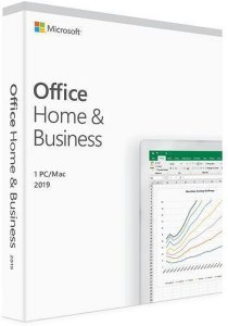 Microsoft Office Mac 2019 Home & Business (Norsk)