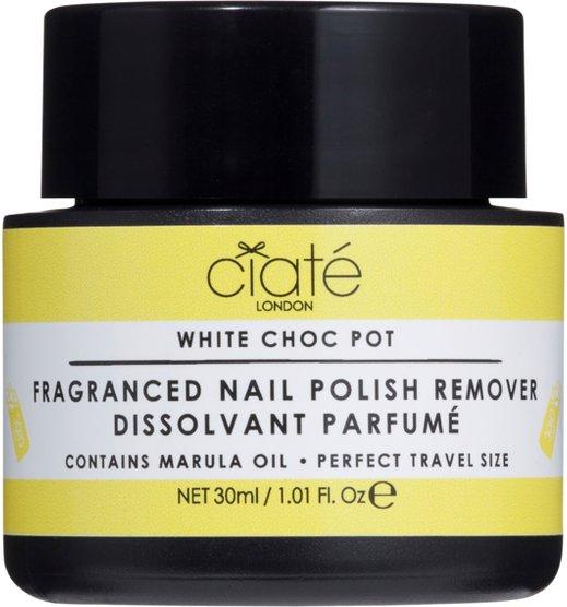 Ciaté White Choc Pot Fragranced Nail Polish Dip-In Remover