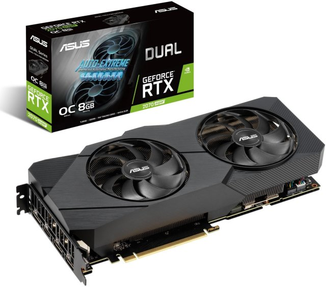 Asus GeForce RTX 2070 Super Dual EVO OC