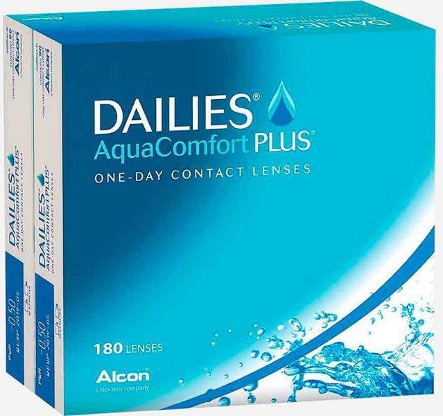 Alcon Dailies Aquacomfort Plus 180p